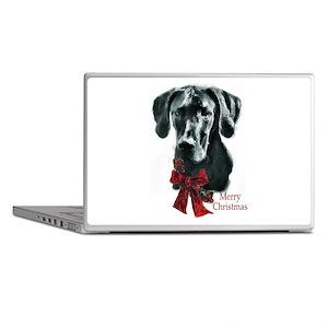 Great Dane Christmas Laptop Skins