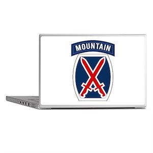 10th Mountain Laptop Skins