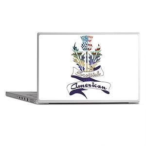 Scottish American Thistle Laptop Skins