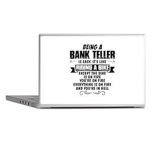 Being A Bank Teller... Laptop Skins