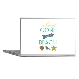 To The Beach Laptop Skins
