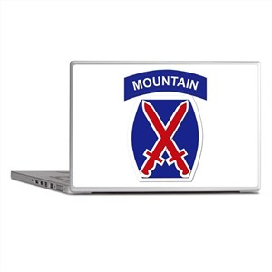 SSI - 10th Mountain Division Laptop Skins