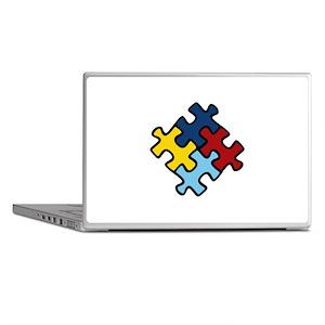 Autism Awareness Puzzle Laptop Skins