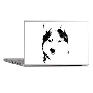 Husky Bi-Eye Husky Dog Laptop Skins