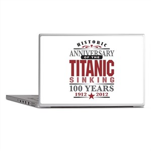 Titanic Sinking Anniversary Laptop Skins