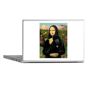 Mona / Std Poodle (bl) Laptop Skins