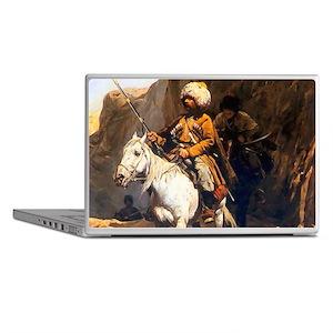 Mountain Men Western Art Laptop Skins