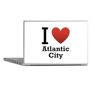 I Love Atlantic City Laptop Skins
