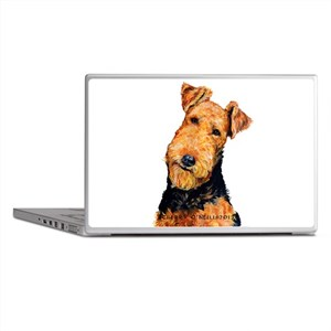 Airedale Terrier Laptop Skins