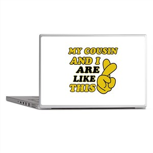 Me and Cousin are like this Laptop Skins