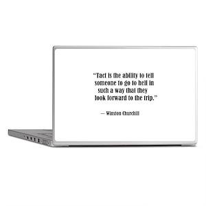 tact:Winston Churchhill Laptop Skins