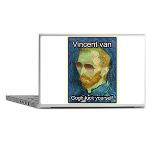 Vincent van Gogh fuck yourself Laptop Skins
