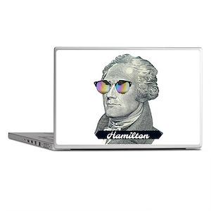 Hamilton with Shades Laptop Skins