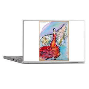 Flamenco Dancer, colorful, ar Laptop Skins