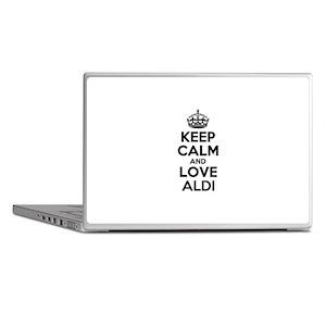 Keep Calm and Love ALDI Laptop Skins