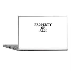 Property of ALDI Laptop Skins