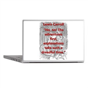 No No The Adventures First - L Carroll Laptop Skin