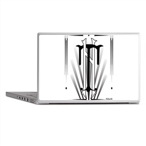 Art Deco Nikola Tesla Laptop Skins