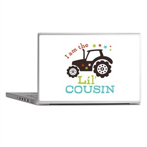 Little Cousin Tractor Laptop Skins