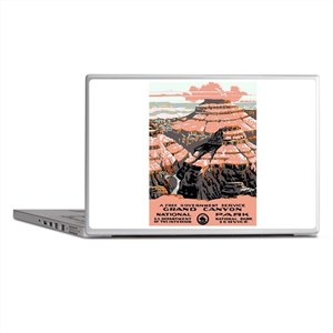 Vintage poster - Grand Canyon Laptop Skins
