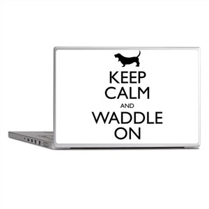 Keep Calm and Waddle On Laptop Skins