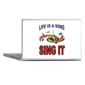 SONG OF LIFE Laptop Skins