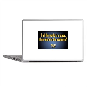 All the World's a Stage Laptop Skins