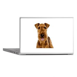 Vector Art Airedale Terrier Laptop Skins