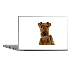 Airedale Painted Laptop Skins