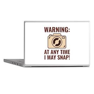 I May Snap Laptop Skins