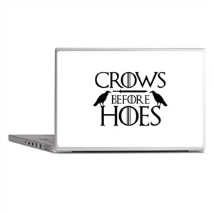 Crows Before Hoes Laptop Skins