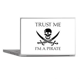 Trust Me I'm a Pirate Laptop Skins