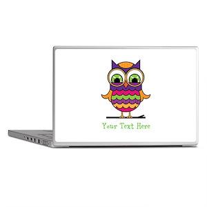Customizable Whimsical Owl Laptop Skins