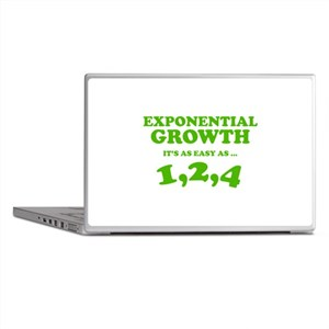 Exponential Growth Laptop Skins