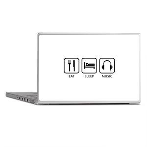 Eat Sleep Music Laptop Skins