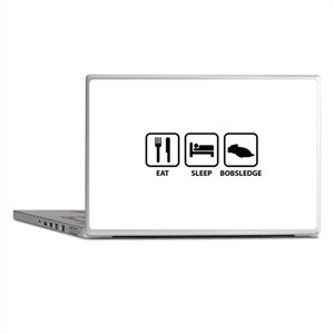Eat Sleep Bobsledge Laptop Skins