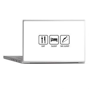 Eat Sleep Ski Jump Laptop Skins