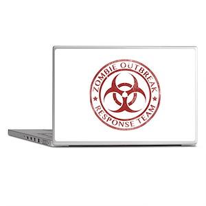 Zombie Outbreak Response Team Laptop Skins