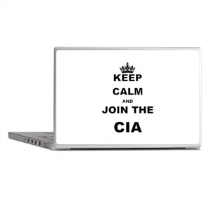 KEEP CALM AND JOIN THE CIA Laptop Skins