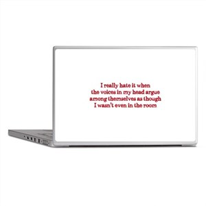 Voices In My Head Laptop Skins