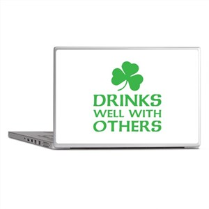 Drinks Well With Others Laptop Skins