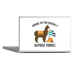 Alpaca Towel Laptop Skins