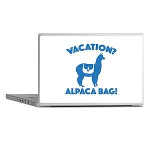 Vacation? Alpaca Bag! Laptop Skins