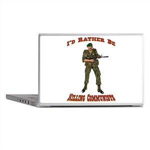 Rather Be Killing Commies Laptop Skins
