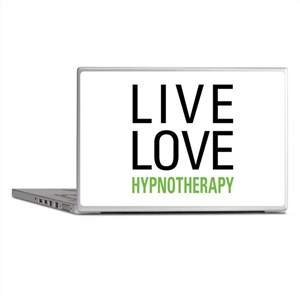 Live Love Hypnotherapy Laptop Skins
