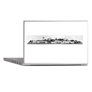 Alcatraz Dark Laptop Skins
