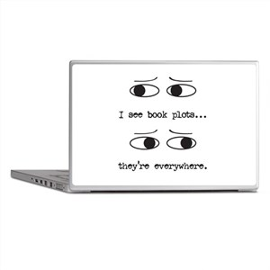 I See Book Plots - Laptop Skins