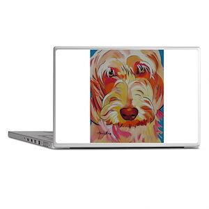 Harvey the Doodle Laptop Skins