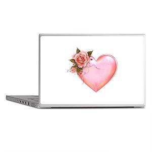 Romantic Hearts Laptop Skins