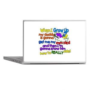 Teach Daddy Laptop Skins